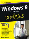Windows 8 All-in-One For Dummies (eBook)